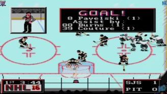 Somebody Simulated The 2016 Stanley Cup Final Using 'NHL 94'