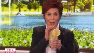 Lemonade Was On The Menu As Sharon Osbourne Addressed Her Ozzy Split