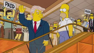 'Simpsons' Creator Matt Groening Thinks It's 'Unlikely' The Show's President Trump Gag Will Come True