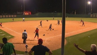 Watch This Softball Team Lose A Championship Game After Celebrating Too Early