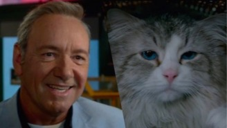 Rejoice! The 'Kevin Spacey Is A Cat' Movie 'Nine Lives' Has Another Trailer!