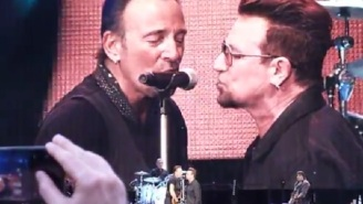 Bono And Bruce Springsteen Team For An Epic Cover Of A Patti Smith Classic