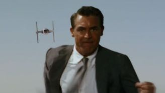 Cary Grant Takes On A TIE Fighter In 'Darth By Darthwest'