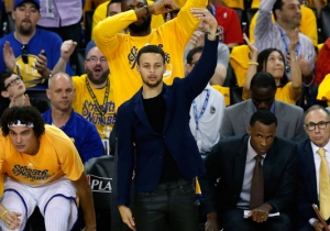 Steph Curry Says The Odds He'll Be Ready For Game 3 Are 'Pretty Good'