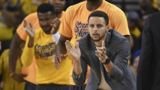 The Warriors' GM Has No Idea If Steph Curry Is Coming Back In Game 3 Or 4