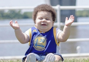 This Incredible Steph Curry Doppelgänger Is A Baby Nicknamed 'Stuff Curry'