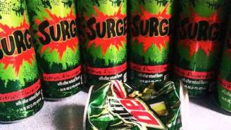 A New Soda War Is Brewing Between Surge And Mountain Dew