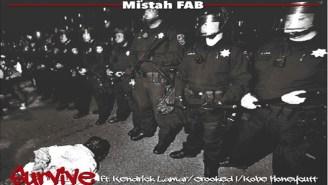 Mistah FAB ft. Kendrick Lamar, Crooked I & Kobe Honeycutt – Survive