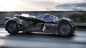 A Racing Team Is Using The Batmobile To Achieve Two Dreams At Once