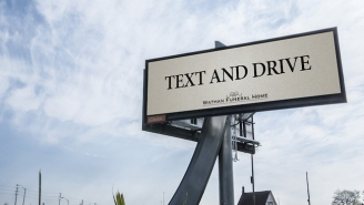 Will This Fake Funeral Ad Stop People Who Text And Drive?
