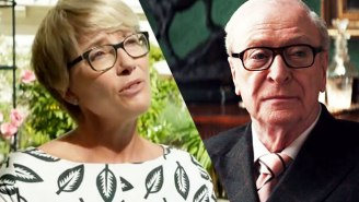 Emma Thompson And Michael Caine Put Young 'Social Media Actors' On Blast