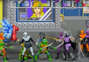 The Classic 'TMNT' Arcade Game Is Getting A Perfectly-Accurate Toy Line