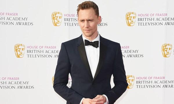 Tom Hiddleston red carpet tuxedo