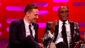 Tom Hiddleston Can't Help But Fangirl Over Samuel L. Jackson On 'The Graham Norton Show'