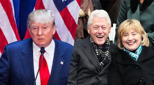 trump-clintons