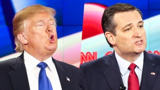 Donald Trump Slams Ted Cruz For Not Helping Carly Fiorina After She Fell Offstage