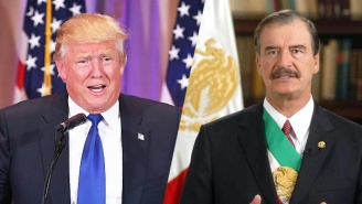 Vicente Fox Walks Back The Mexico 'Truce' After Donald Trump's Taco Bowl Debacle