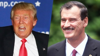Vicente Fox Invites Trump To Mexico And Apologizes For His Vulgar Wall Outburst