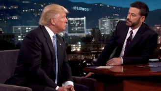 Donald Trump Backpedals On His LGBT Bathroom Stance During His 'Jimmy Kimmel Live' Appearance