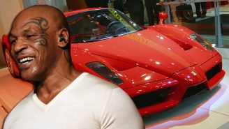 Let Mike Tyson Regale You With The Story Of When He Crashed A Ferrari Through A Window