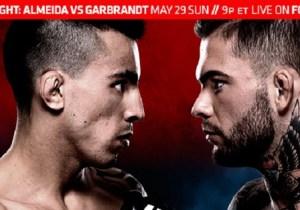 UFC Fight Night 88: Garbrandt Versus Almeida In A Bantamweight Battle