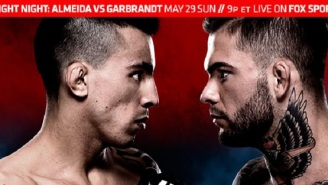 UFC Fight Night 88: Garbrandt Versus Almeida In A Bantamweight Battle