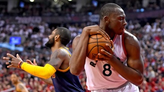 Bismack Biyombo Doesn't Care About Dikembe Mutombo's Finger-Wag Permission