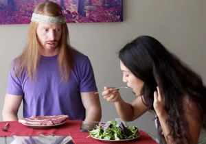 This Video Parodies What The World Would Be Like If Meat Eaters Acted Like Vegans
