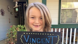 A 7-Year-Old Who Grew Out His Hair For Cancer Patients Now Has Cancer