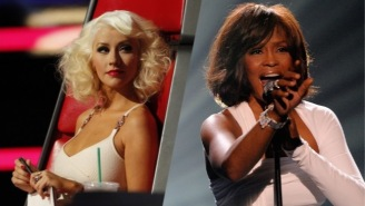 'The Voice' Axes A Christina Aguilera And Whitney Houston Duet Thanks To A Crappy Hologram