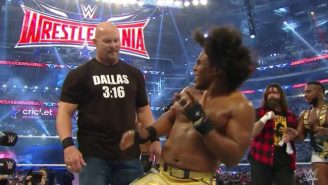 Stone Cold Steve Austin Almost Said No To One Of The Best Moments Of WrestleMania 32