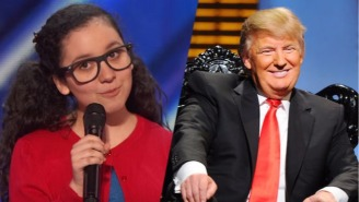 A 13-Year-Old Girl Torched Donald Trump On 'America's Got Talent' With A Brilliantly Simple Joke