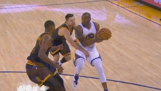 Andre Iguodala Did Not Take Kindly To Matthew Dellavedova Slapping Him In The Nuts