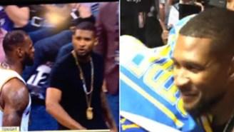 Usher Delivered The Ultimate Diss After LeBron Left Him Hanging