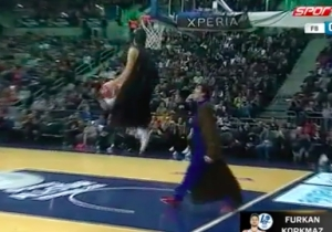 The Sixers' First-Round Pick Furkan Korkmaz Once Dressed Up As Darth Vader For A Dunk Contest