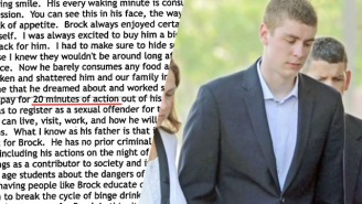 The Stanford Rapist's Father Laments How His Son Is Paying Such 'A Steep Price For 20 Minutes Of Action'