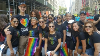 Adam Silver Made History And Marched In The NYC Pride Parade And Kevin Durant Approves