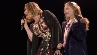 Adele Found Time For An Onstage Chat With A 10-Year-Old Fan During Her Massive Glastonbury Set