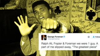 George Foreman, Mike Tyson, And More Pay Their Respects To Muhammad Ali On Social Media