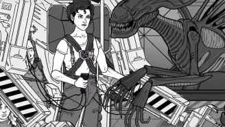 This 3-minute animated refresher on the 'Alien' franchise is cheeky good fun