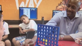 Alonzo Mourning Couldn't Help But Laugh After Meeting A Kid Who Doesn't Know His Name