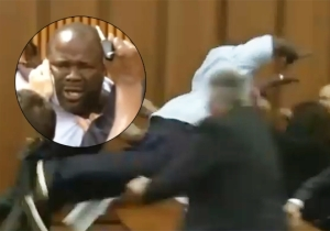 This Emotional Father Couldn't Hold Back His Rage Against His Daughter's Murderer In Court