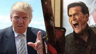 Bruce Campbell Takes On Trump Supporters For Using This 'Ash Vs. Evil Dead' 'Make-Up Test' As Twitter Propaganda