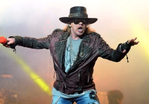 Axl Rose Reveals Guns N' Roses Are Working On New Music
