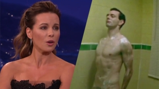Kate Beckinsale And Her Daughter Swap Pictures Of Naked Michael Sheen As A Way To Cheer Up