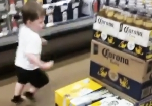 Let This Beer-Loving Toddler Be Your Friday Spirit Animal