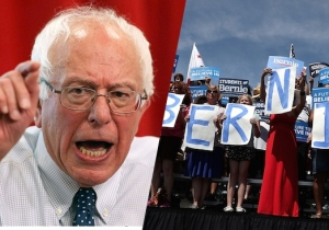 Bernie Sanders 'Absolutely' Condemns Anti-Trump Violence From His Supporters