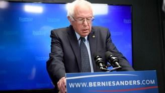 Bernie Sanders Criticizes The 'Absurd' DEA For Refusing To Reclassify Marijuana