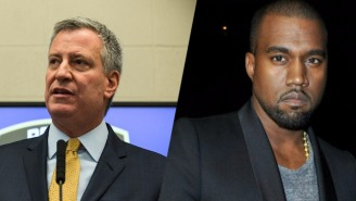 New York Mayor Bill De Blasio Wants To Throw A Block Party For Kanye West