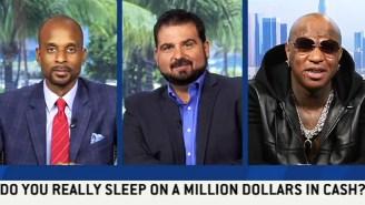 Birdman Claims He Sleeps On A Million Dollars Every Night